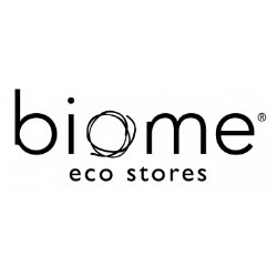 biome me eco stores reusable plastic and eco friendly logo
